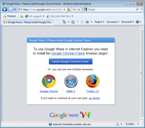 Google Wave surrenders to Internet Explorer